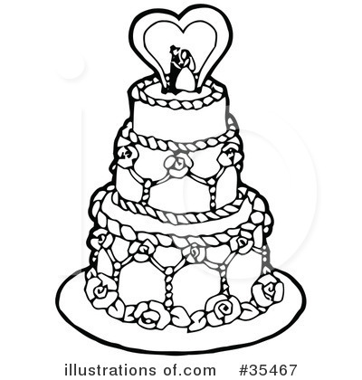 Royalty-Free (RF) Bridal Clipart Illustration by C Charley-Franzwa - Stock Sample #35467