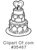 Royalty-Free (RF) Bridal Clipart Illustration #35467