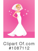Royalty-Free (RF) Bride Clipart Illustration #1087112