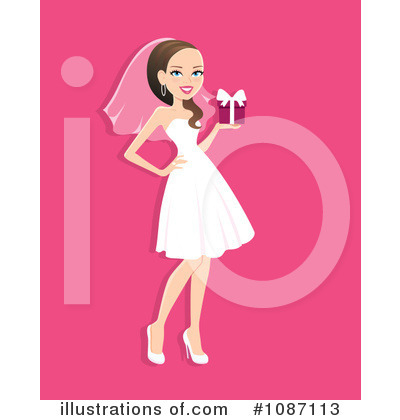 Wedding Clipart #1087113 by Monica