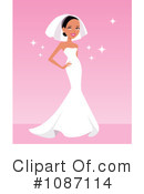 Royalty-Free (RF) bride Clipart Illustration #1087114