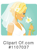 Royalty-Free (RF) bride Clipart Illustration #1107037