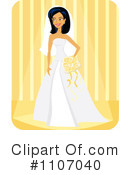 Bride Clipart #1107040 by Amanda Kate