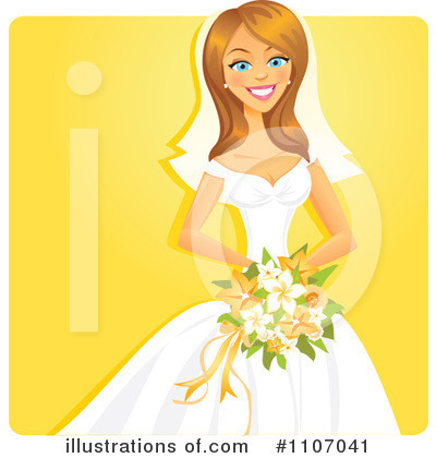 Bride Clipart #1107041 by Amanda Kate