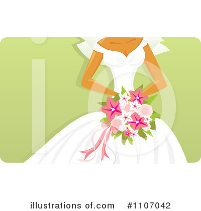 Bride Clipart #1107042 by Amanda Kate