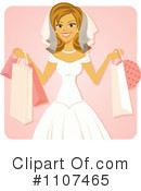 Royalty-Free (RF) Bride Clipart Illustration #1107465