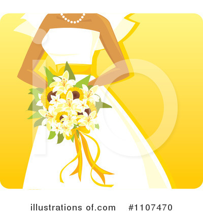 Bride Clipart #1107470 by Amanda Kate