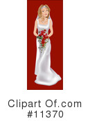 Royalty-Free (RF) bride Clipart Illustration #11370
