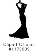 Royalty-Free (RF) bride Clipart Illustration #1173039