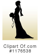 Royalty-Free (RF) bride Clipart Illustration #1176538