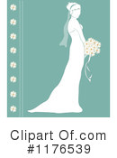 Royalty-Free (RF) bride Clipart Illustration #1176539