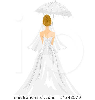 Bride Clipart #1242570 by BNP Design Studio