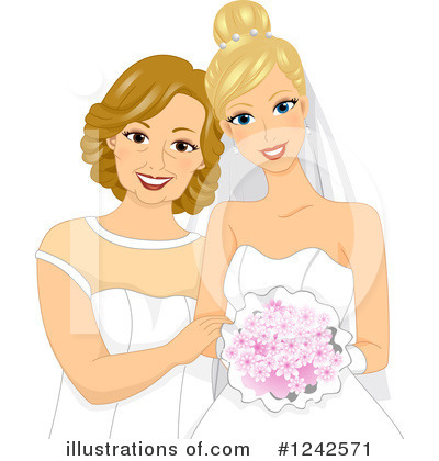 Wedding Clipart #1242571 by BNP Design Studio