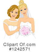Royalty-Free (RF) Bride Clipart Illustration #1242571