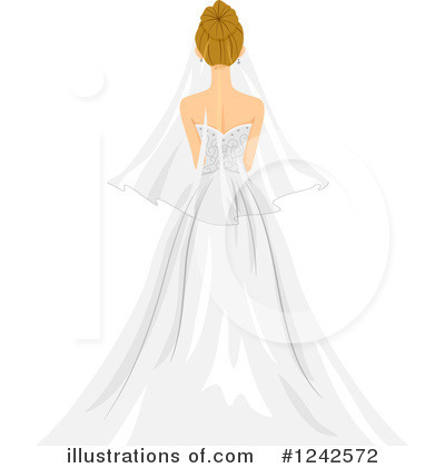 Royalty-Free (RF) Bride Clipart Illustration by BNP Design Studio - Stock Sample #1242572