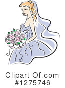 Bride Clipart #1275746 by Vector Tradition SM