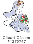 Bride Clipart #1275747 by Vector Tradition SM