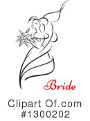 Bride Clipart #1300202 by Vector Tradition SM