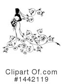 Royalty-Free (RF) Bride Clipart Illustration #1442119