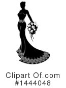 Royalty-Free (RF) Bride Clipart Illustration #1444048