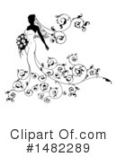 Royalty-Free (RF) Bride Clipart Illustration #1482289