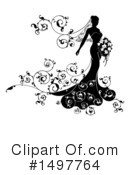 Royalty-Free (RF) Bride Clipart Illustration #1497764