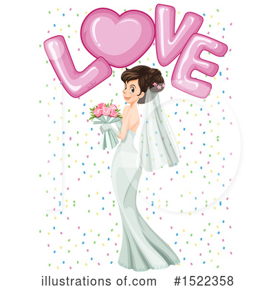 Wedding Clipart #1522358 by Graphics RF