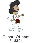 Royalty-Free (RF) Bride Clipart Illustration #18301