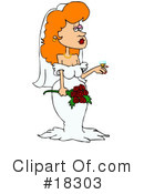 Royalty-Free (RF) Bride Clipart Illustration #18303