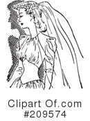 Bride Clipart #209574 by BestVector
