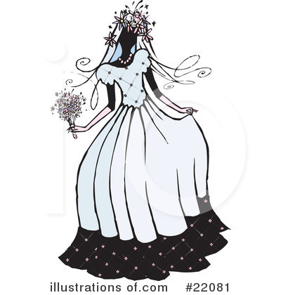 Dress Clipart #22081 by Steve Klinkel