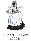 Royalty-Free (RF) Bride Clipart Illustration #22081