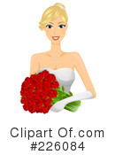 Royalty-Free (RF) Bride Clipart Illustration #226084