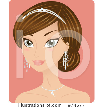 Bride Clipart #74577 by Melisende Vector