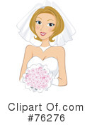 Royalty-Free (RF) Bride Clipart Illustration #76276