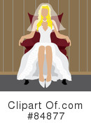 Royalty-Free (RF) Bride Clipart Illustration #84877