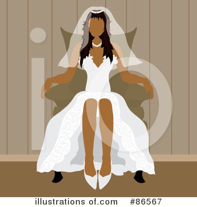 Wedding Dress Clipart #86567 by Pams Clipart