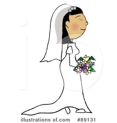 Wedding Dress Clipart #89131 by Pams Clipart