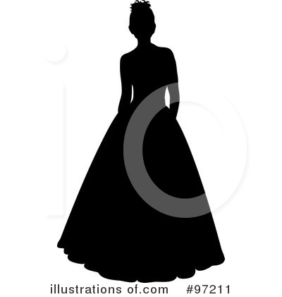 Bride Clipart #97211 by Pams Clipart