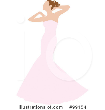 Wedding Dress Clipart #99154 by Pams Clipart