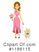 Bridesmaid Clipart #1186115 by BNP Design Studio