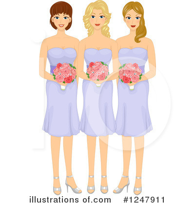 Wedding Party Clipart #1247911 by BNP Design Studio