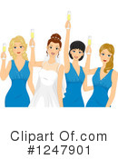 Bridesmaids Clipart #1247901 by BNP Design Studio