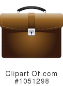 Royalty-Free (RF) Briefcase Clipart Illustration #1051298
