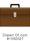 Royalty-Free (RF) briefcase Clipart Illustration #1092027