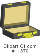 Royalty-Free (RF) briefcase Clipart Illustration #11870