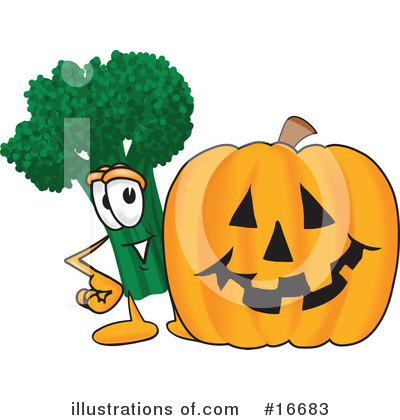 Broccoli Character Clipart #16683 by Toons4Biz