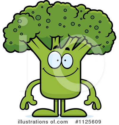 Broccoli Clipart #1125609 by Cory Thoman