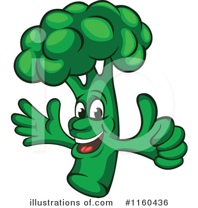 Vegetable Clipart #1160436 by Vector Tradition SM