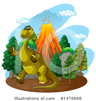 Volcano Clipart #1470666 by Graphics RF